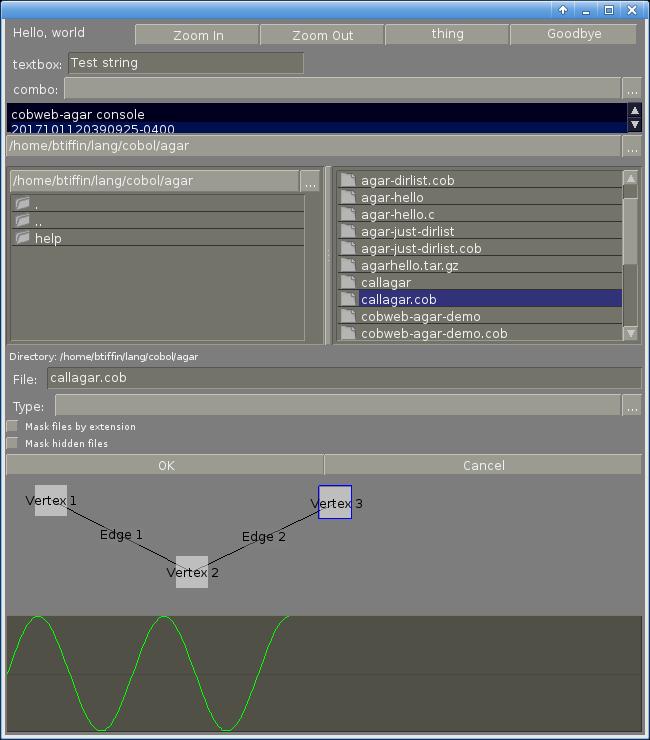 GnuCOBOL (formerly OpenCOBOL) / Discussion / GnuCOBOL:Agar